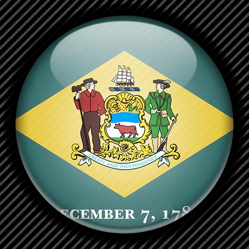 america, delaware, north, states, united icon