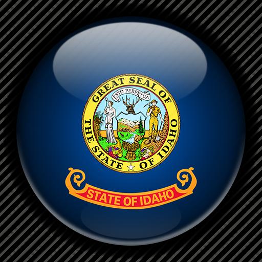 america, idaho, north, states, united icon