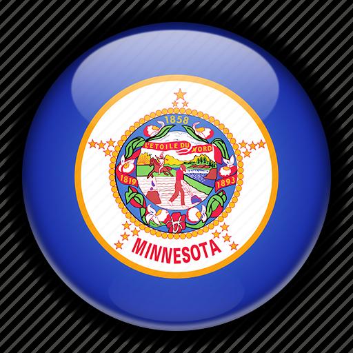 america, minnesota, north, states, united icon