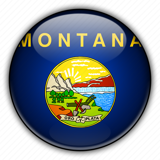 america, montana, north, states, united icon