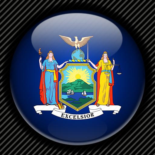 america, new, north, states, united, york icon