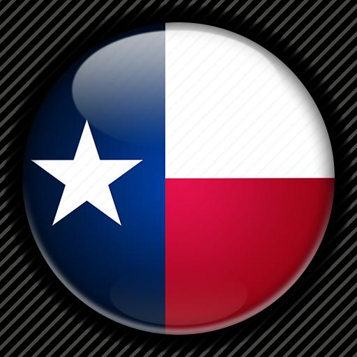 america, north, states, texas, united icon