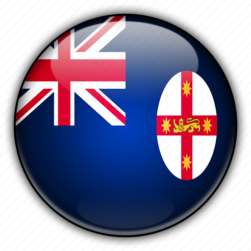 australia, new, oceania, south, wales icon