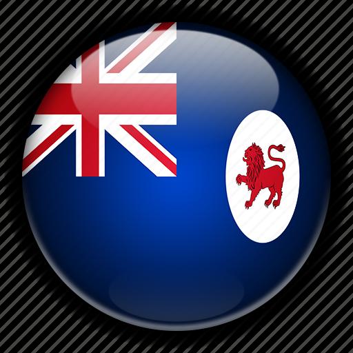 australia, oceania, tasmania icon