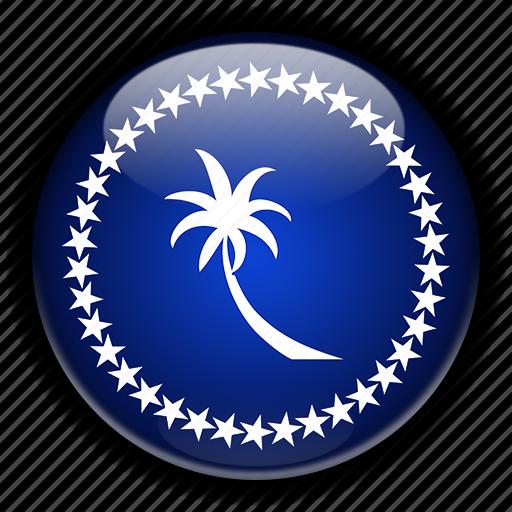 chuuk, micronesia, oceania icon