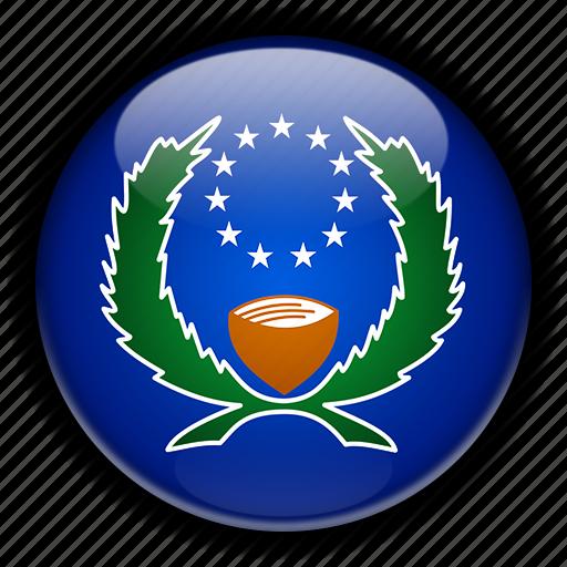 micronesia, oceania, pohnpei icon