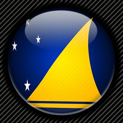 new, oceania, tokelau, zealand icon