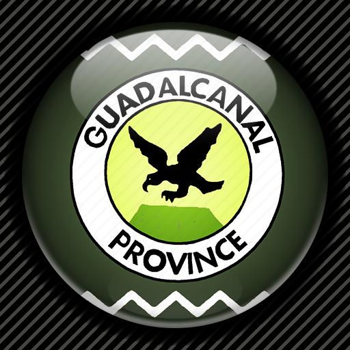 guadalcanal, islands, oceania, solomon icon