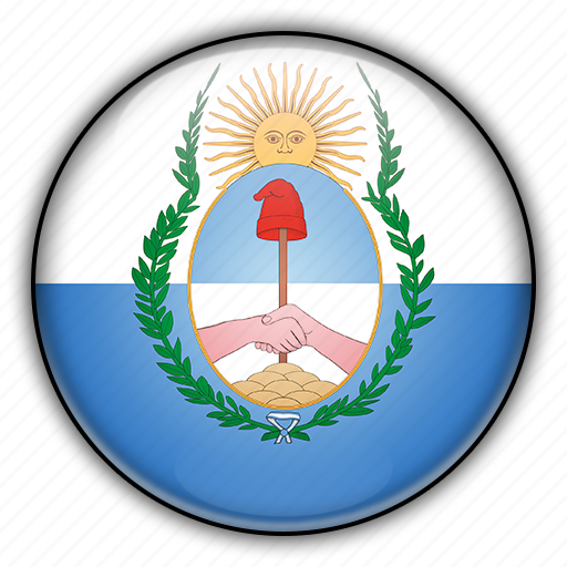 america, argentina, mendoza, south icon