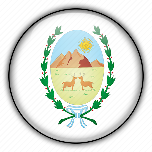 america, argentina, luis, san, south icon
