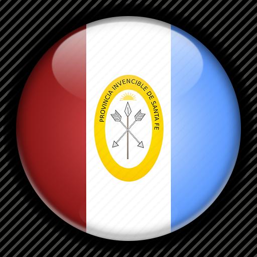 america, argentina, fe, santa, south icon