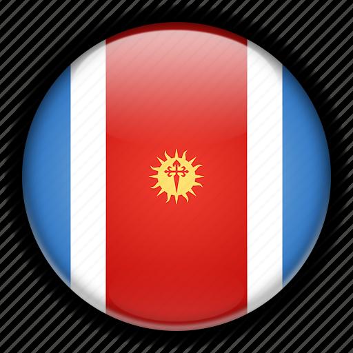 america, argentina, del, estero, santiago, south icon