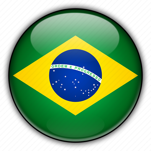 america, brazil, south icon