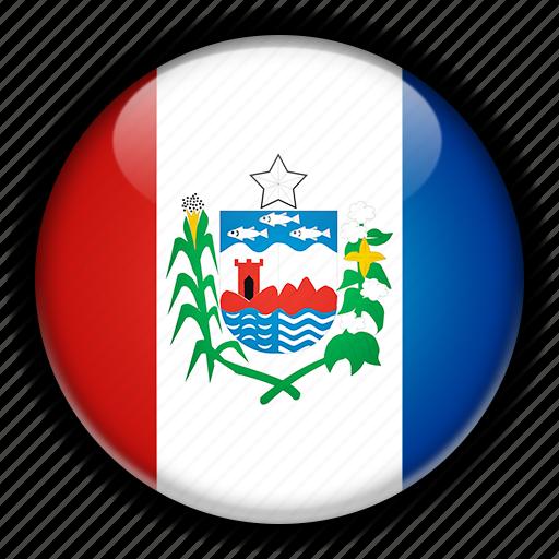 alagoas, america, brazil, south icon