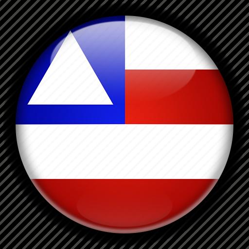 america, bahia, brazil, south icon