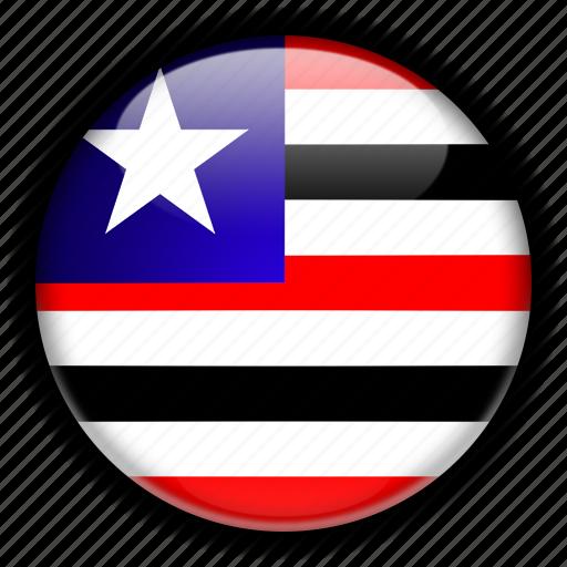 america, brazil, maranho, south icon