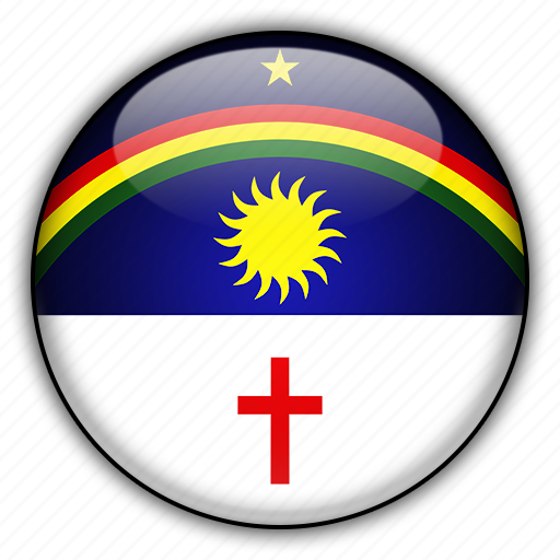 america, brazil, pernambuco, south icon