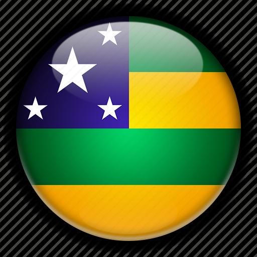 america, brazil, sergipe, south icon