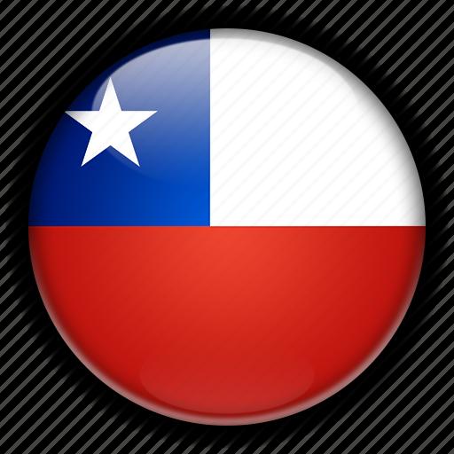 america, chile, south icon