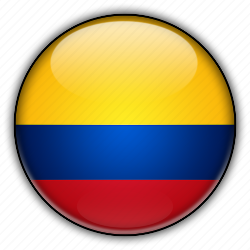 america, colombia, south icon