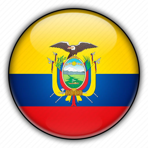 america, ecuador, south icon