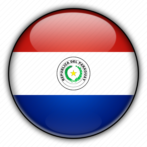 america, paraguay, south icon