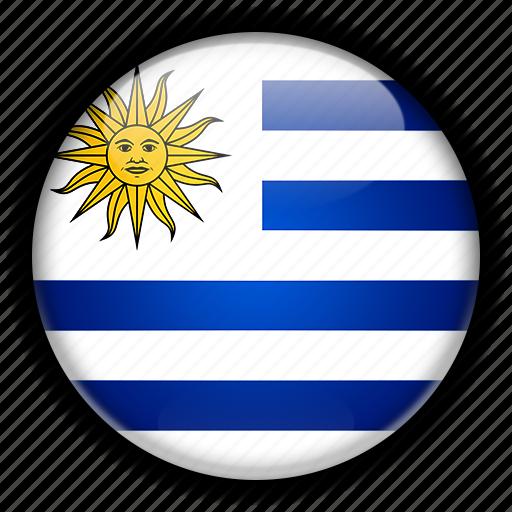 america, south, uruguay icon