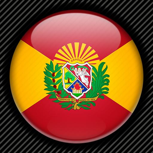 america, aragua, south, venezuela icon