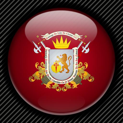 america, caracas, dc, south, venezuela icon