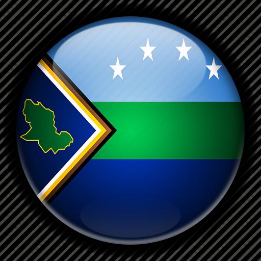 amacuro, america, delta, south, venezuela icon