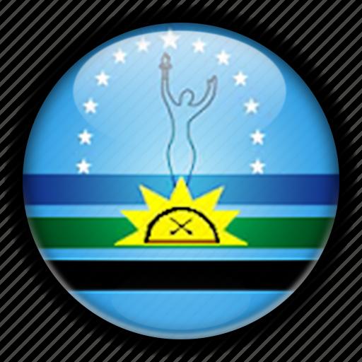 america, monagas, south, venezuela icon