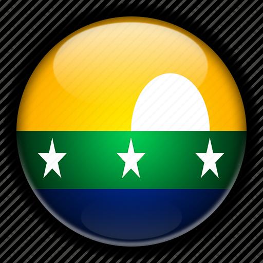 america, esparta, nueva, south, venezuela icon