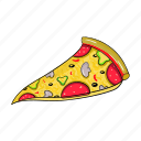 fast food, food, italian, national, piece, pizza