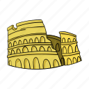 antiquity, architecture, colosseum, landmark