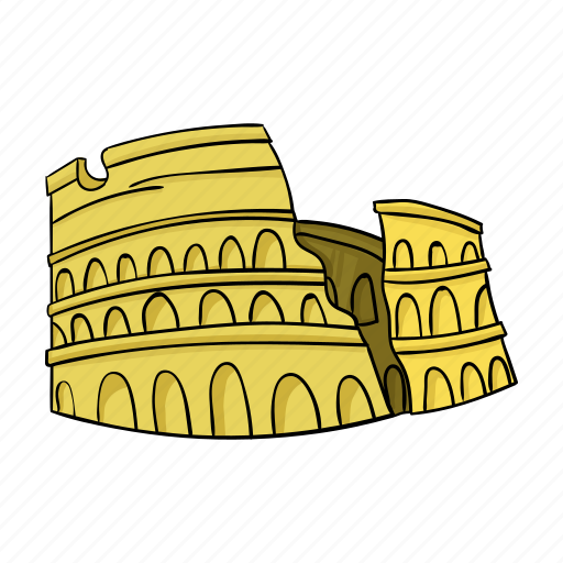 Antiquity, architecture, colosseum, landmark icon - Download on Iconfinder