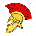 ancient, headdress, helmet, roman, warrior