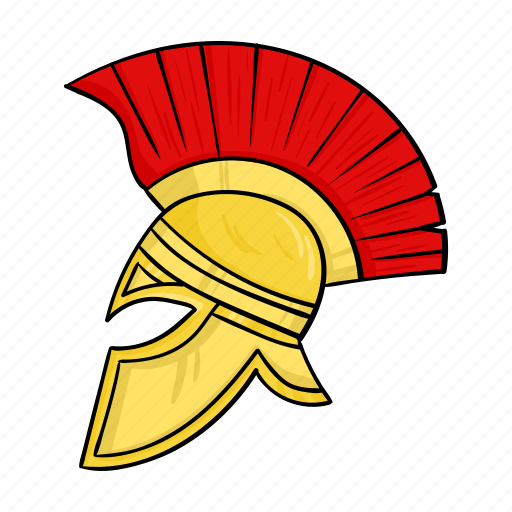 Ancient, headdress, helmet, roman, warrior icon - Download on Iconfinder