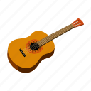 acoustic, guitar, instrument, mexico, musical, sightseeing, travel icon