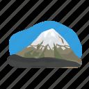 lanshaft, mexico, mountain, peak, sightseeing, snow, travel icon