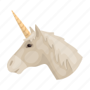 animal, country, landmark, national, scotland, travel, unicorn icon