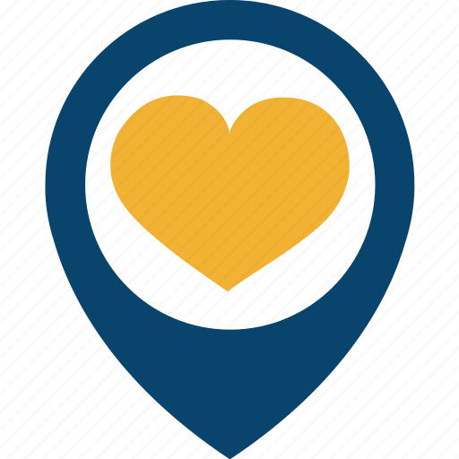 couple, female, heart, location, love, male, relationship icon
