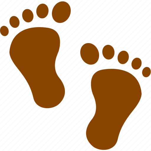 couple, female, footprint, heart, love, male, relationship icon