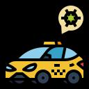cab, car, taxi, transport, virus