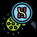 dna, genetics, genomic, strand, virus icon
