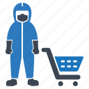 cart, protection, safety, security, shopping