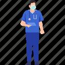 doctor, healthcare, covid-19, coronavirus, report, stethoscope