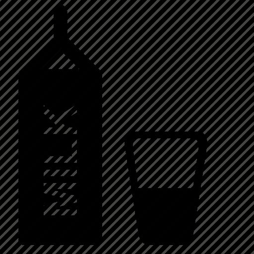 drink, glass, milk, shake icon