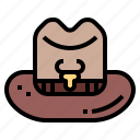 cowboy, hat, cow, leather, clothing