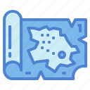 location, maps, pin, placeholder icon
