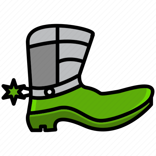 adventure, boots, cowboy, desert, fashion, oasis, shoe icon